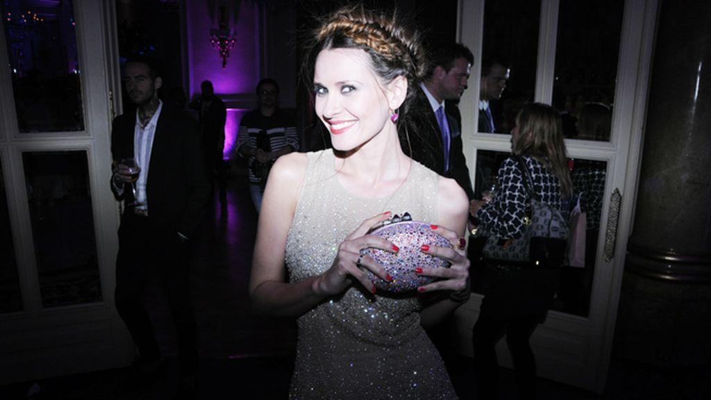 Elena Ballesteros nos deslumbró en la fabulosa fiesta del Ritz