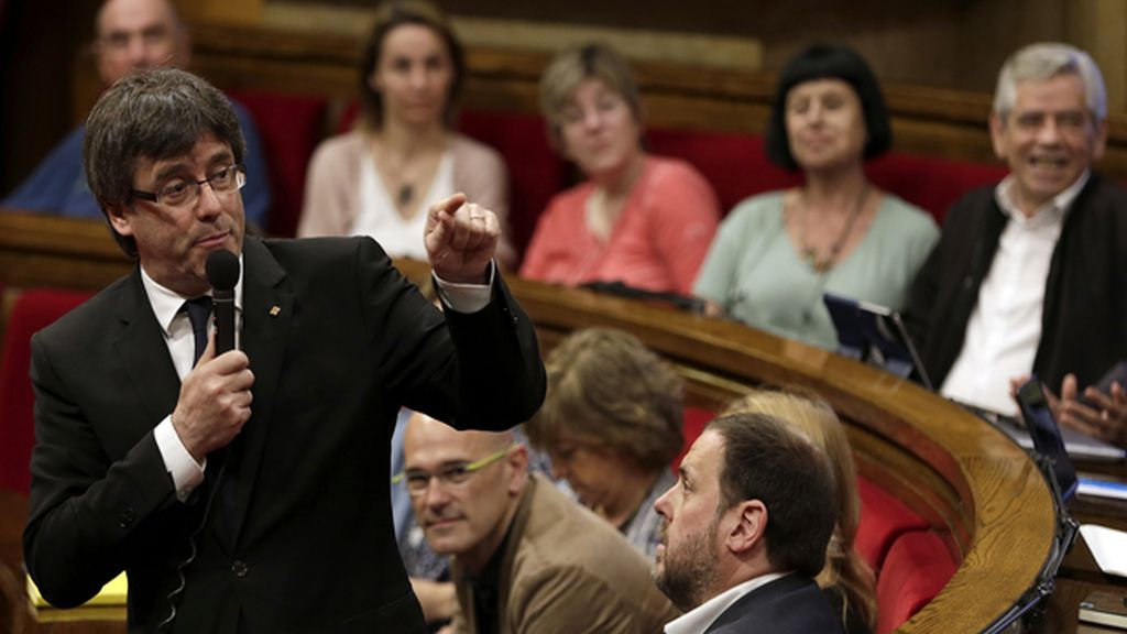 La CUP pide un referéndum unilateral para avalar la cuestión de confianza