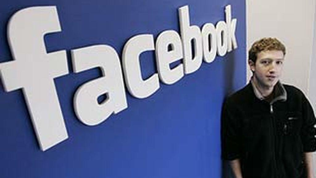 Imagen de archivo del presidente ejecutivo de Facebook, Mark Zuckerberg. Foto: AP.