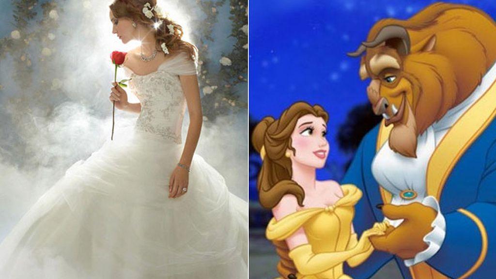 Las princesas de cuento tienen su propio vestido de novia
