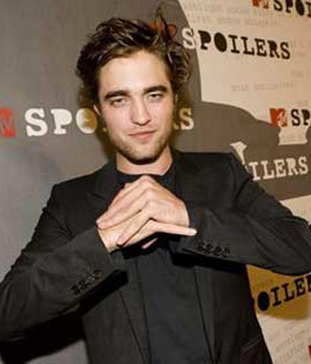 Pattinson tuvo que hacer verdaderos esfuerzos por pegar un puñetazo a un especialista en una escena. Foto: AP: