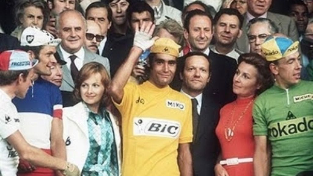 Luis Ocaña, campeón del Tour en 1973