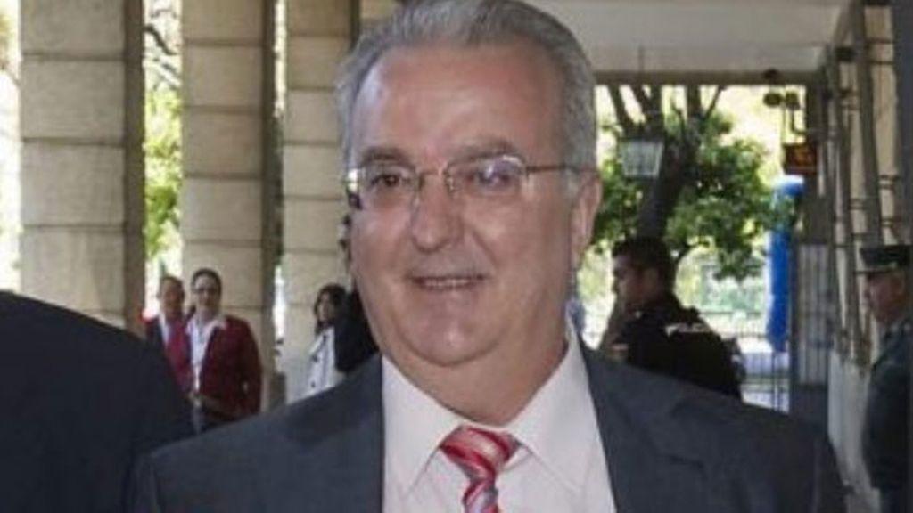 El exconsejero de Empleo de Andalucía, Antonio Fernández