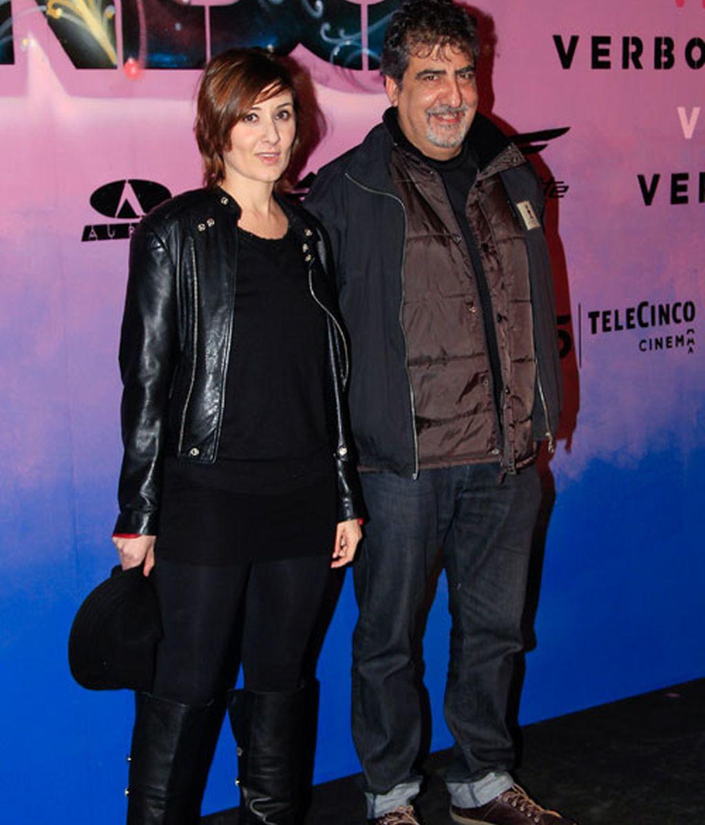 Miguel Ángel Silvestre, con muleta en el estreno de Verbo