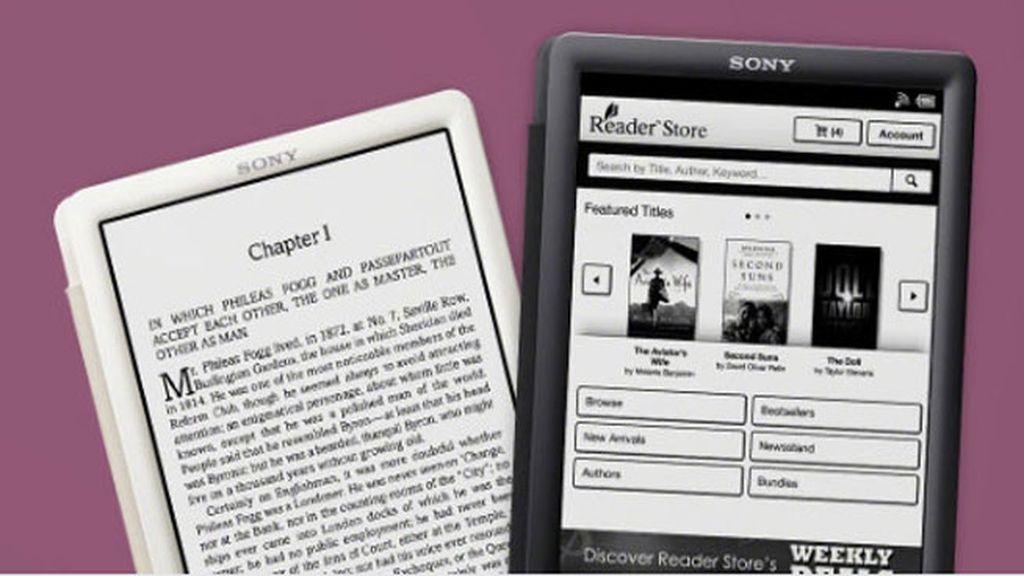 Sony,e-books, libros electrónicos