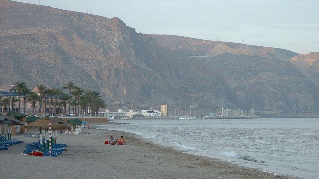 Playa de Aguadulce en Roquetas del Mar, Almería