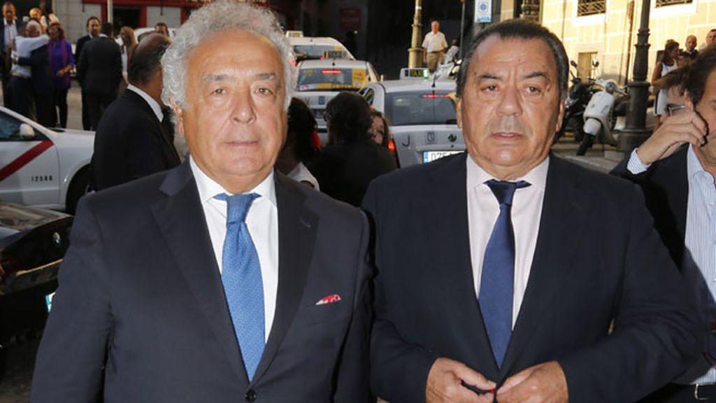 Los cantantes Antonio Romero y Rafael Ruíz