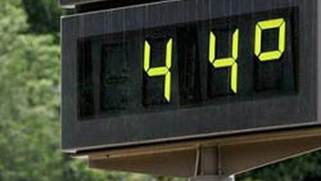 Temperaturas asfixiantes en España
