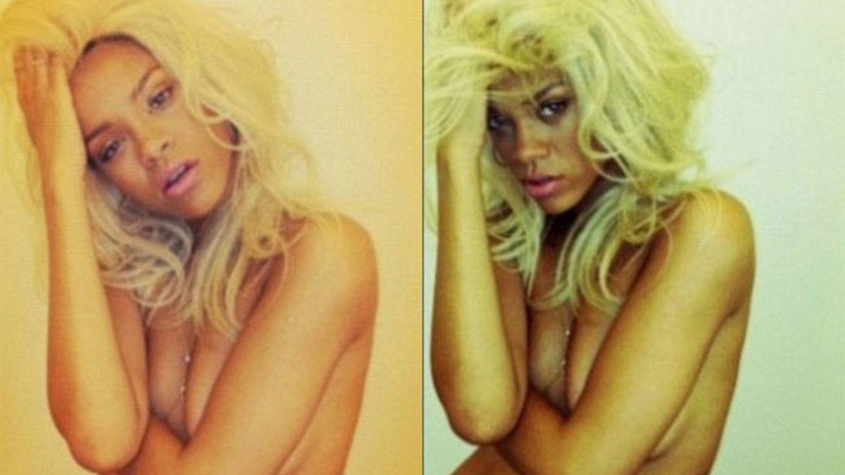 Desnudo de Rihanna por un perfume