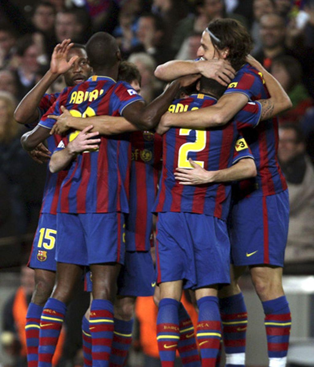 Primer gol en el Camp Nou