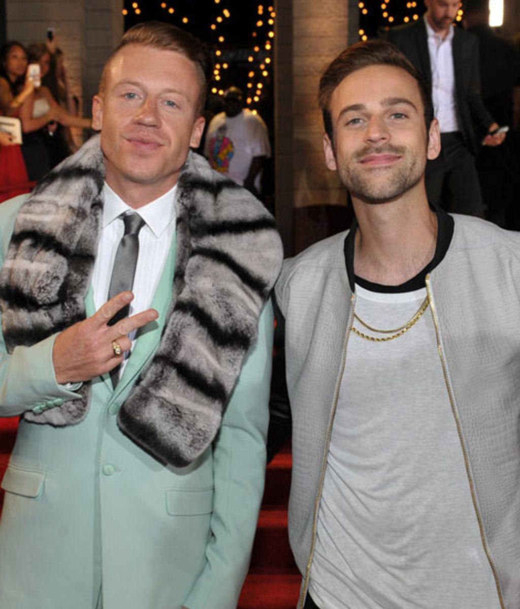El rapero Macklemore junto al productor Ryan Lewis