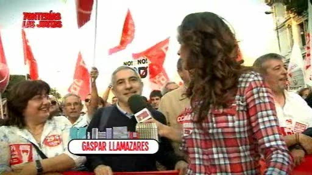 Romina, en la manifestación del 29S de Madrid