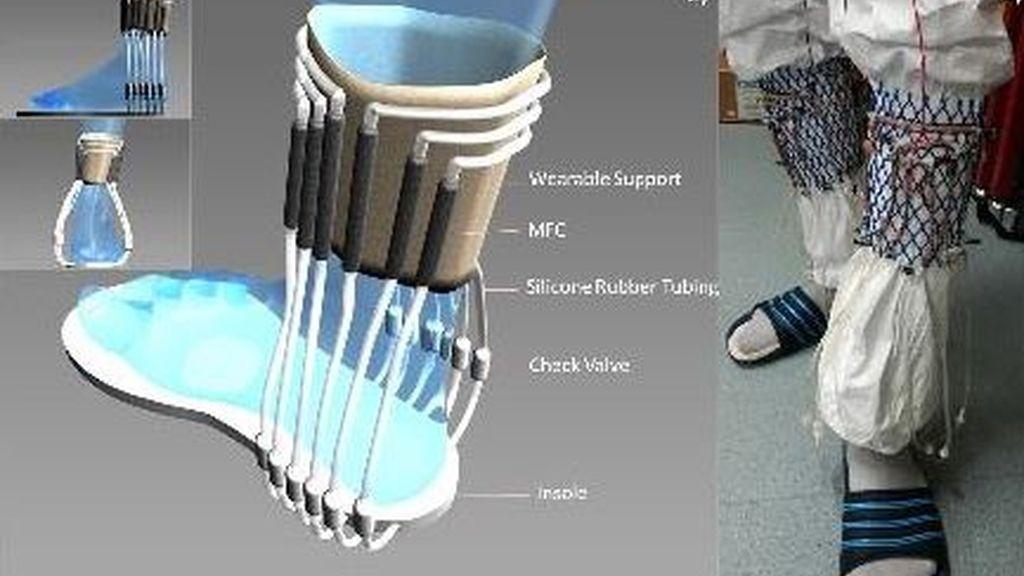 Una combinación de orina y calcetines podría algún día ser usada como cargador de aparatos electrónicos