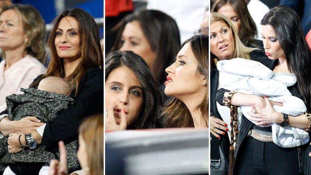 Las mujeres del Real Madrid en las gradas