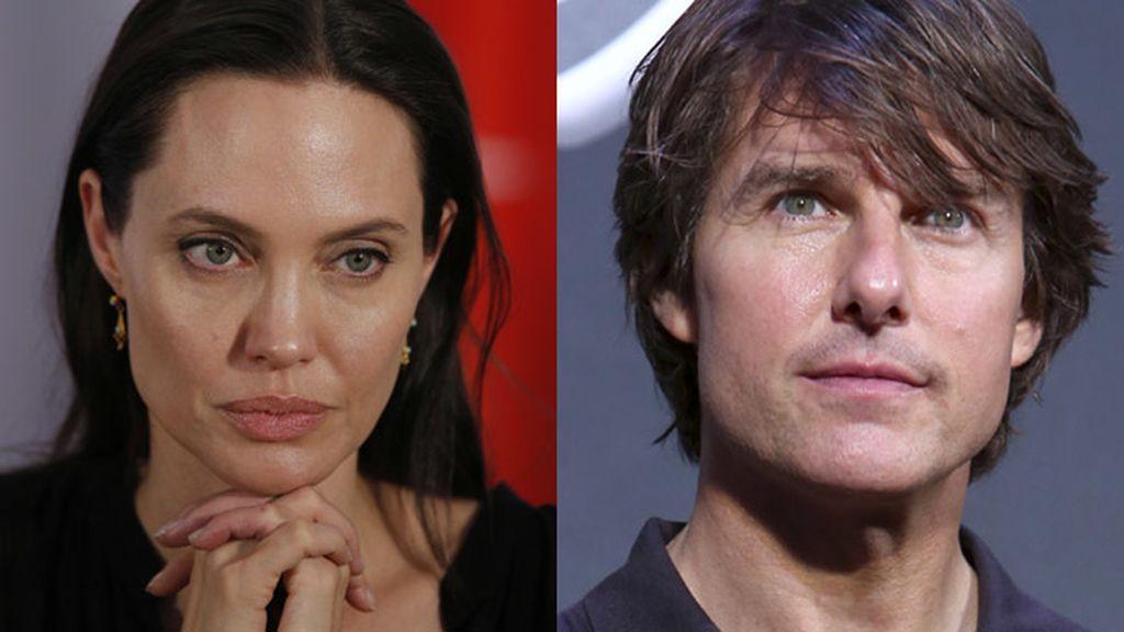 Angelina Jolie y Tom Cruise entre los actores más odiados de Hollywood