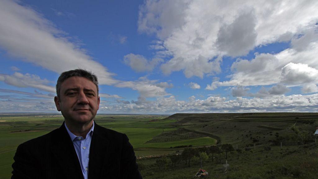 Palencia es el paisaje elegido por Ramón Arangüena