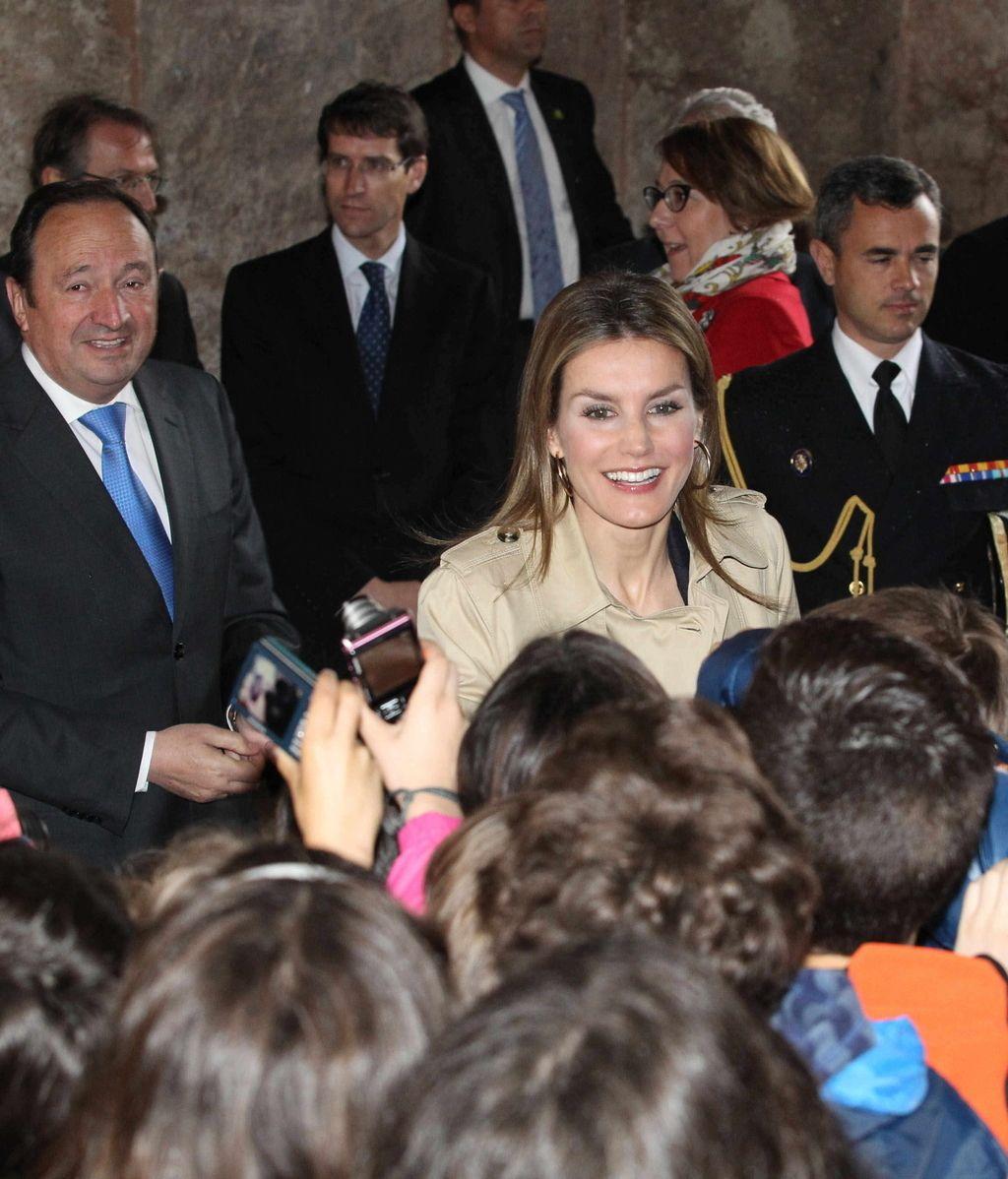 La Princesa inaugura el IX Seminario Internacional de Lengua y Periodismo