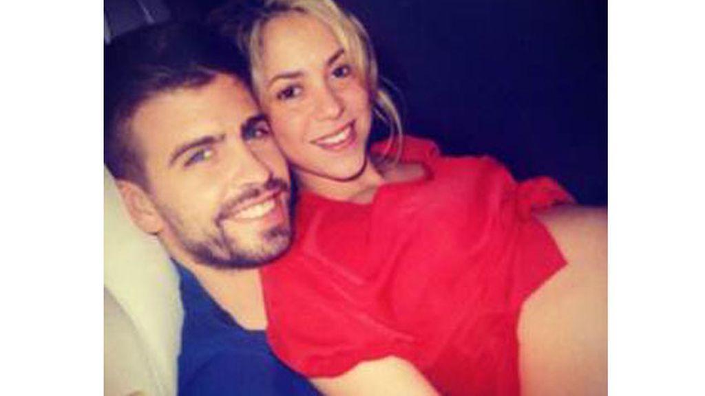 Shakira y Piqué, embarazados en 2012