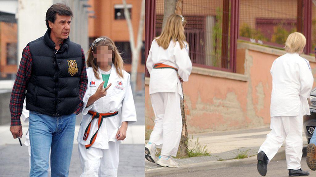 Amina y Luis, los karatekas de la Casa de Alba