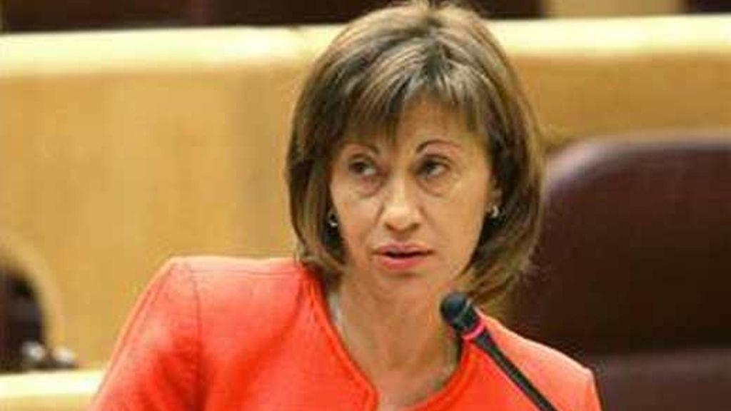 elena espinosa, ministra de Medioambiente, Medio Rural y Marino