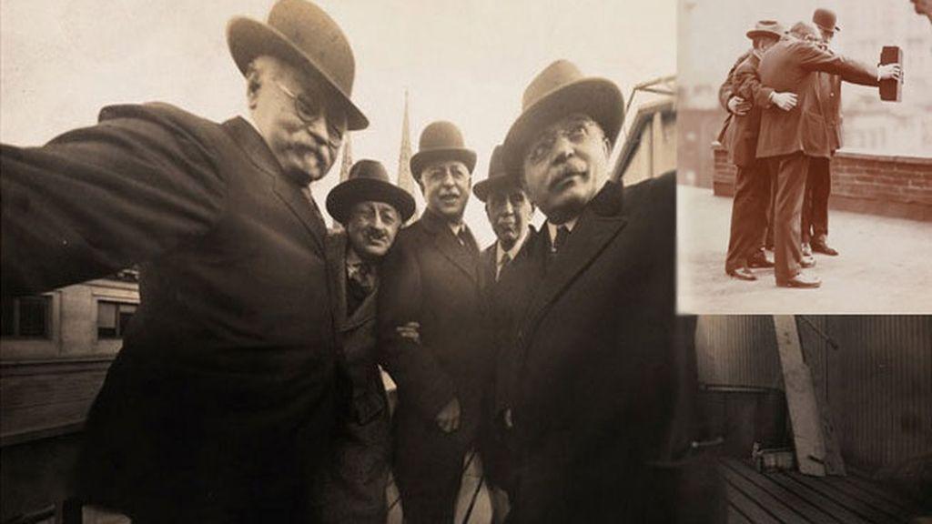 El primer 'selfie' de la historia data de 1920