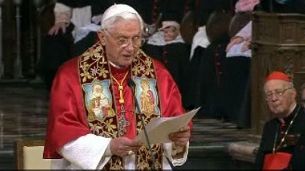 Benedicto XVI en Santiago de Compostela