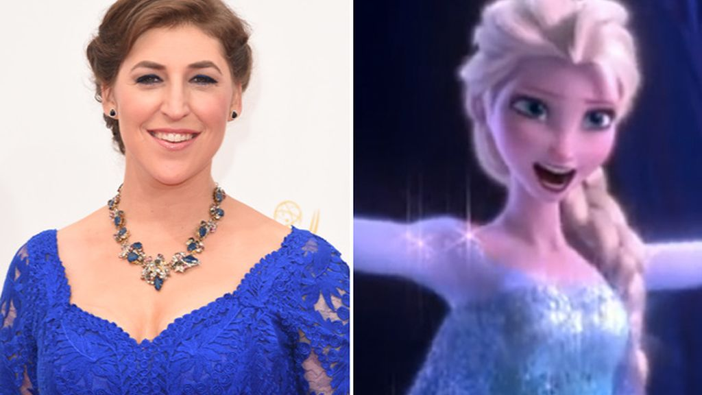 Mayim Bialik,Blossom,The Big Bang Theory,Frozen,Disney