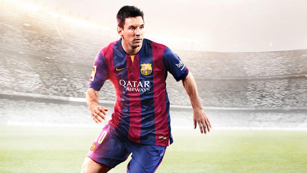 Messi, FIFA15, videojuegos
