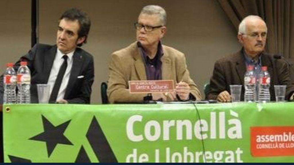 Ramoncín, en un acto por la independencia de Catalunya