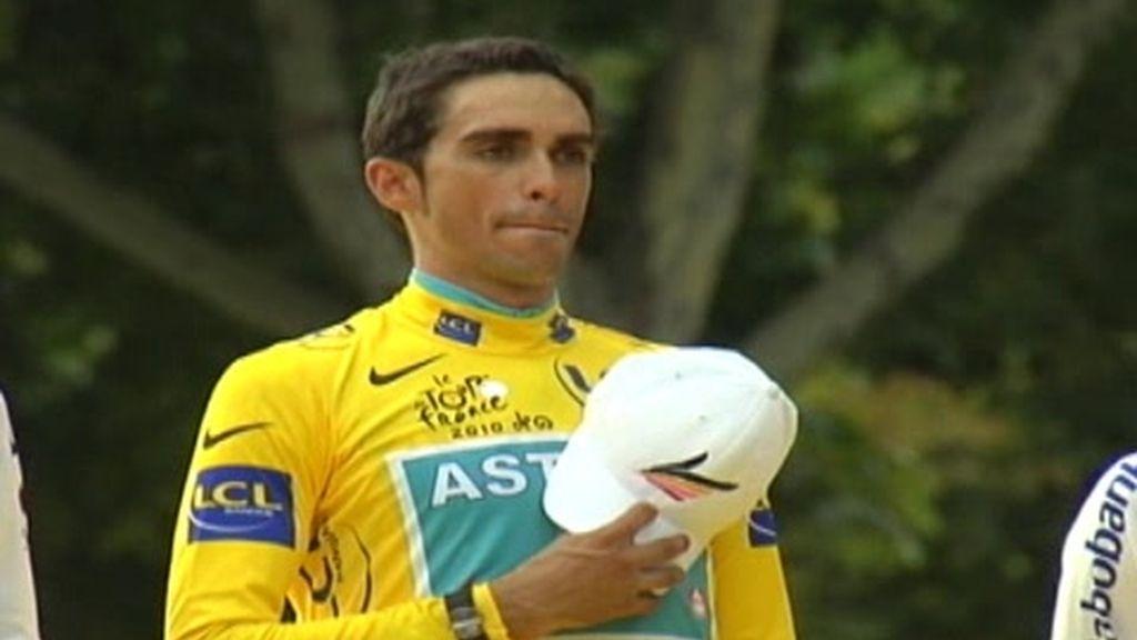 El dopaje de Contador