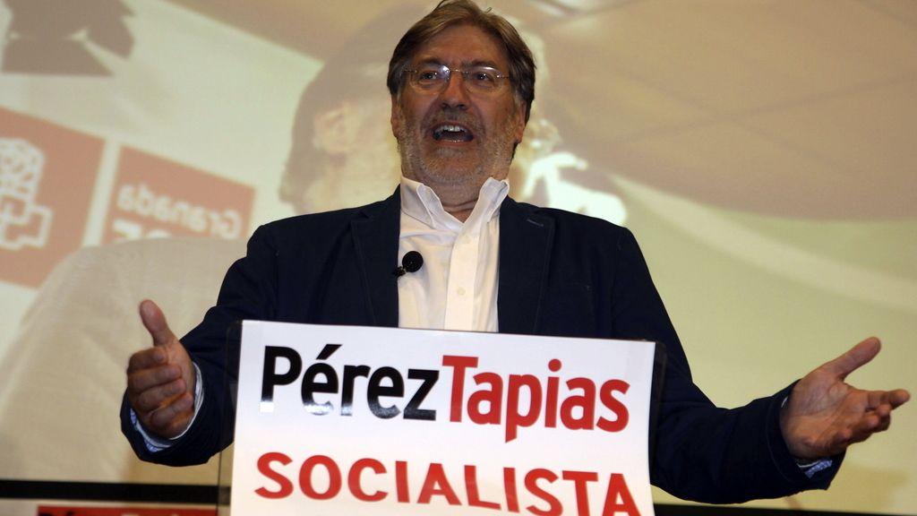 """Pérez Tapias encara las elecciones con ganas de """"renovar a fondo"""" el PSOE"""