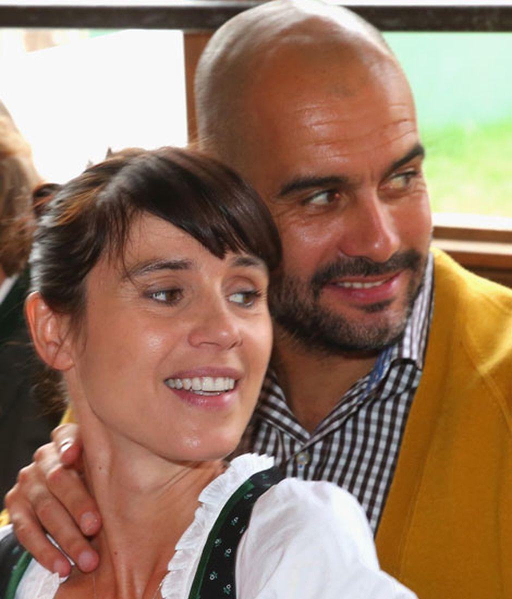 Pep Guardiola y Cristina se casaron en mayo