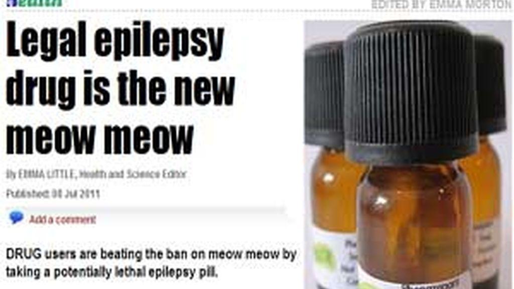'Phenazepan', la nueva droga letal en Reino Unido. Foto: THE SUN