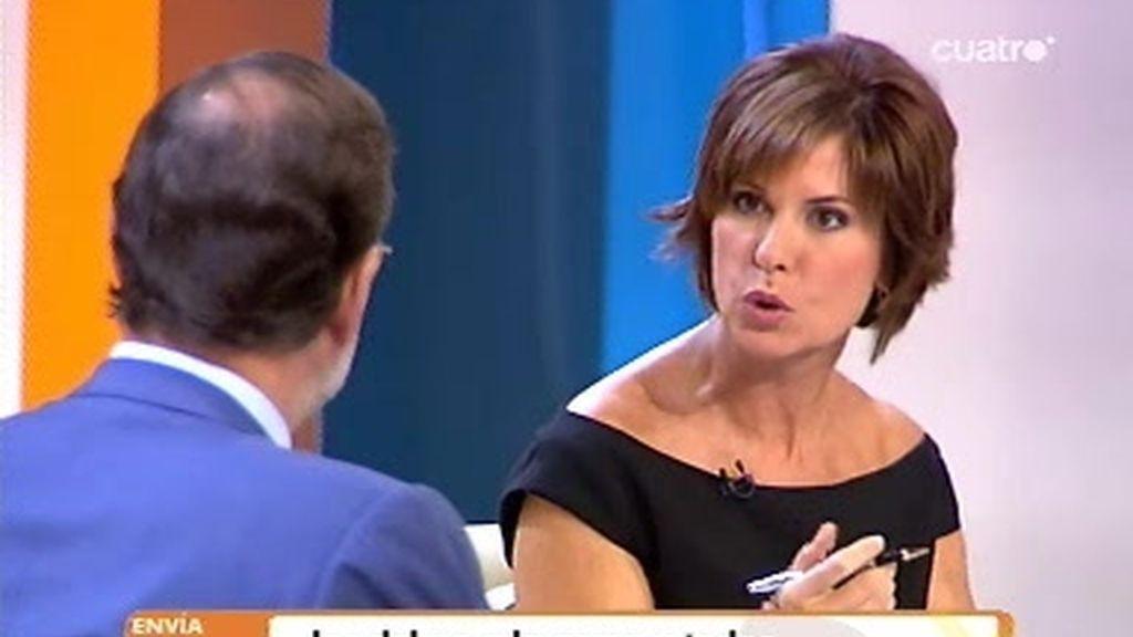 Concha García Campoy entrevista a Mariano Rajoy (4 de 4)
