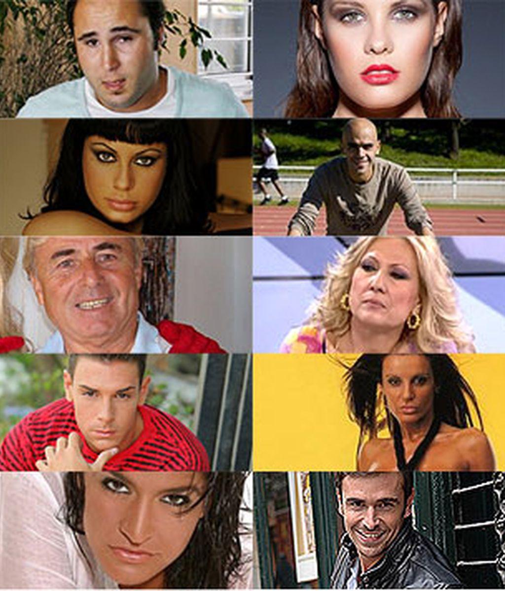 Los famosos supervivientes.