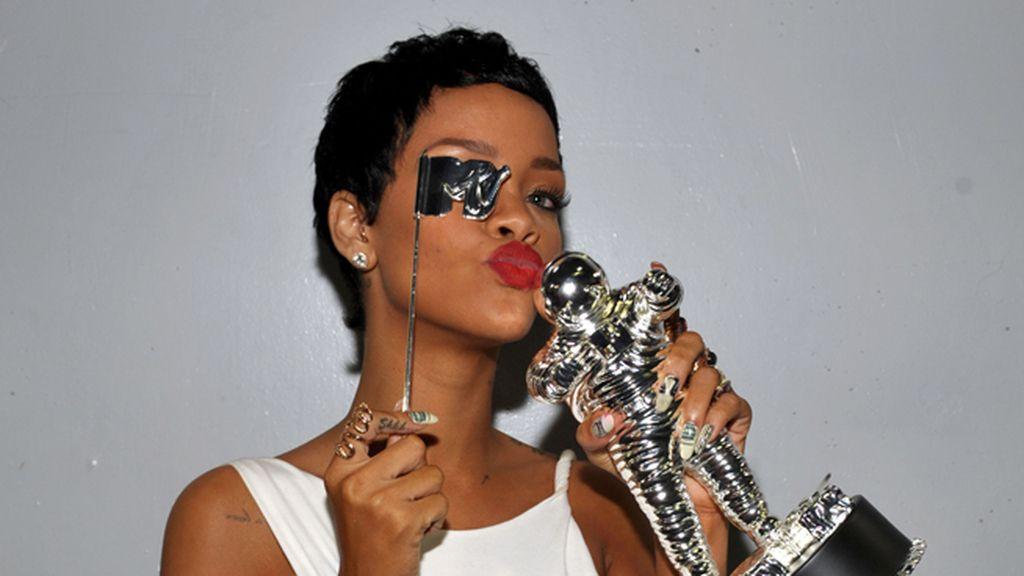 Rihanna, con su premio a 'mejor video del año'