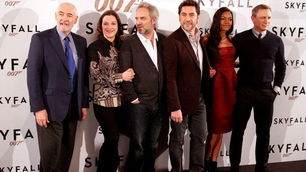 Javier Bardem presenta 'Skyfall' en Madrid