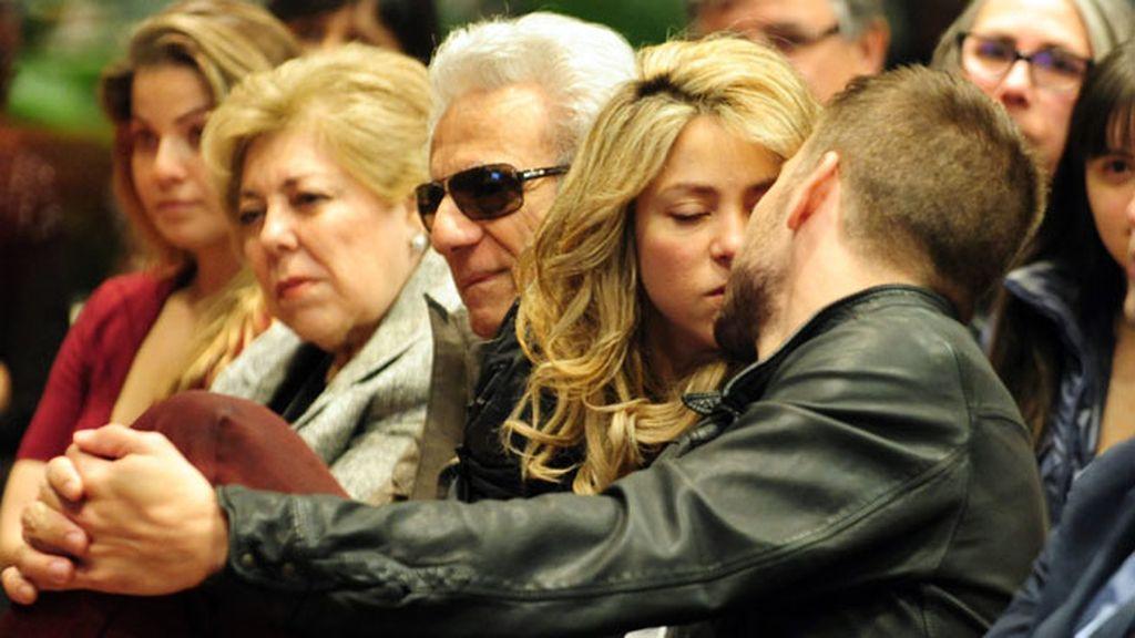 Shakira y Piqué demostraron su amor