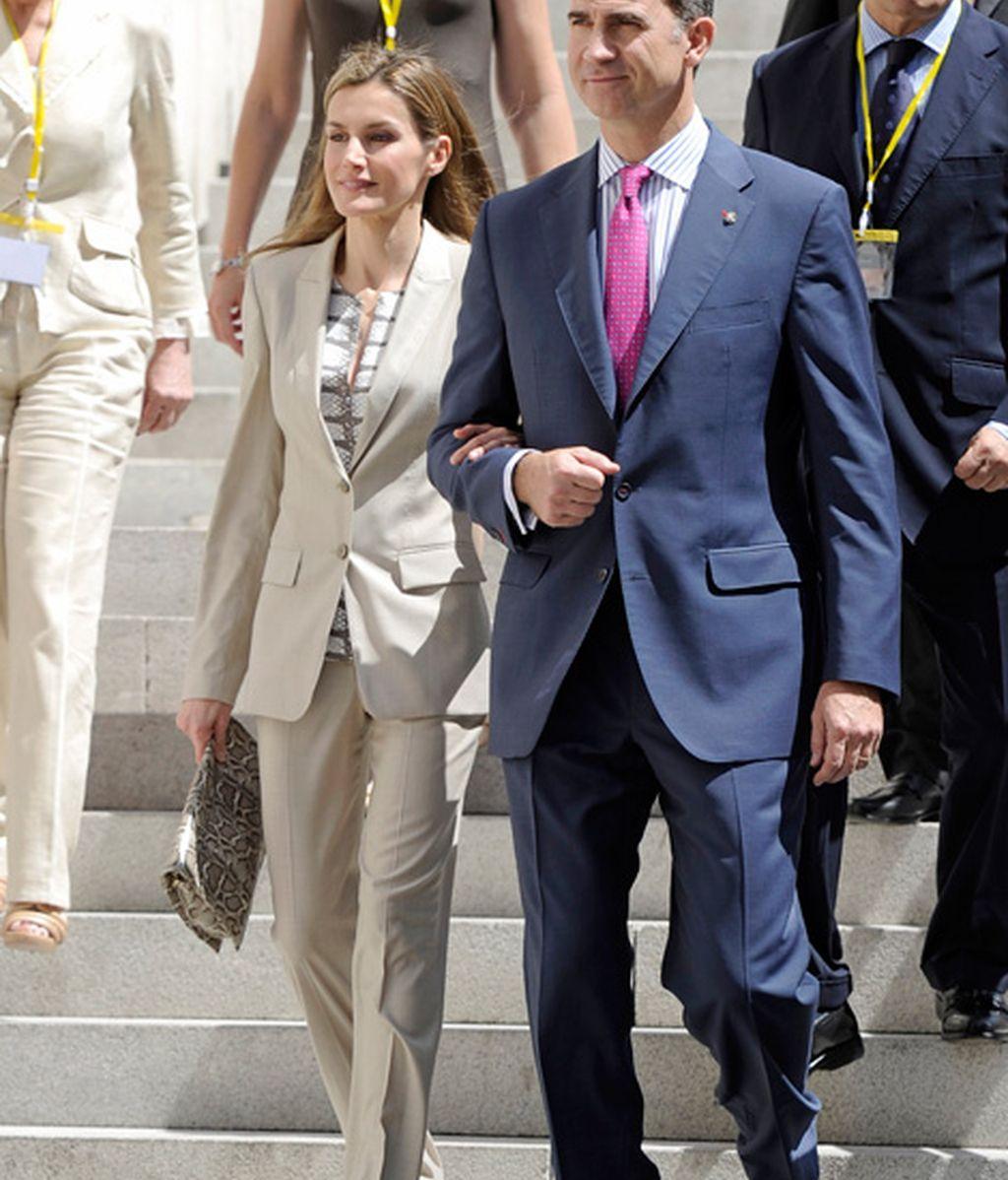 Últimos actos como príncipes de Asturias (junio 2014)