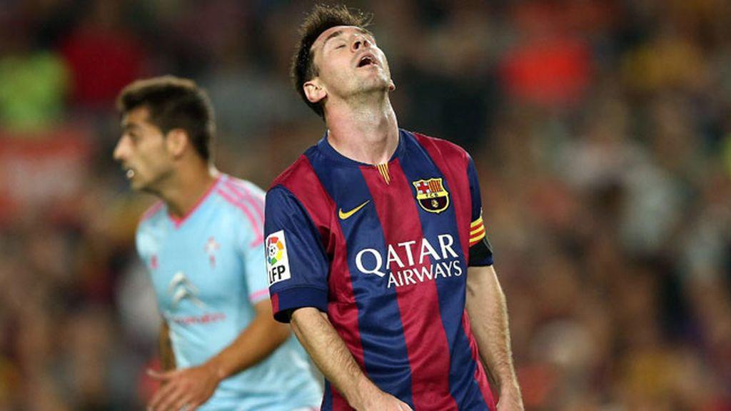 El Barcelona pierde contra el Celta de Vigo en el Camp Nou