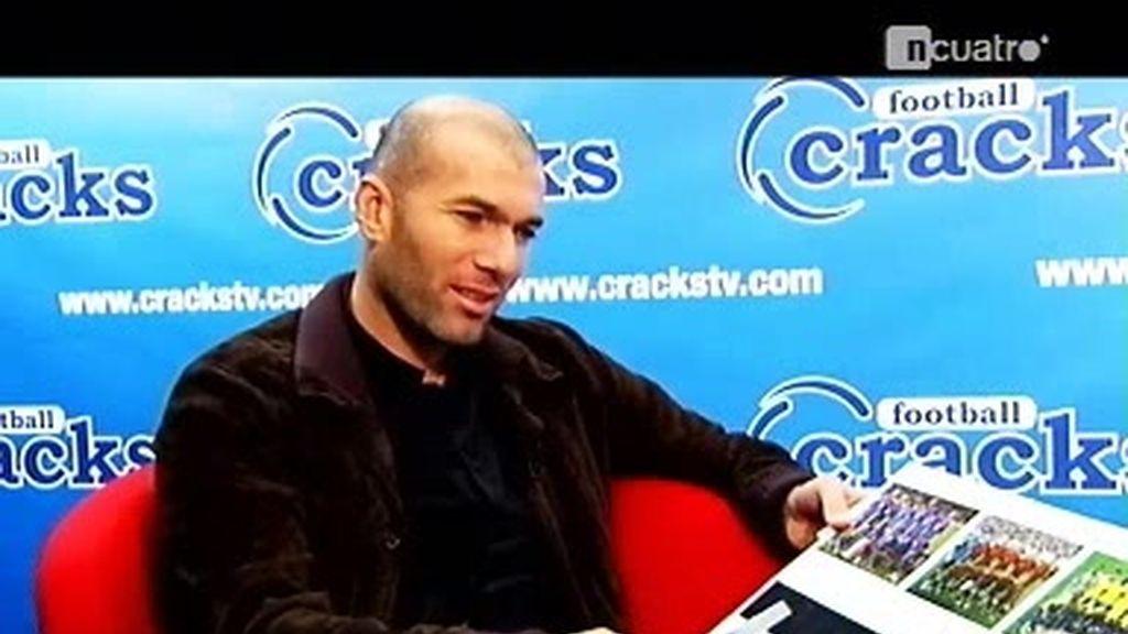 """Entrevista a Zidane: """"España es la que más posibilidades tiene de ganar el Mundial"""""""