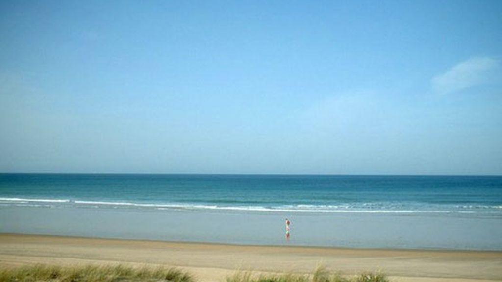 Playa de Sancti Petri, en Chiclana