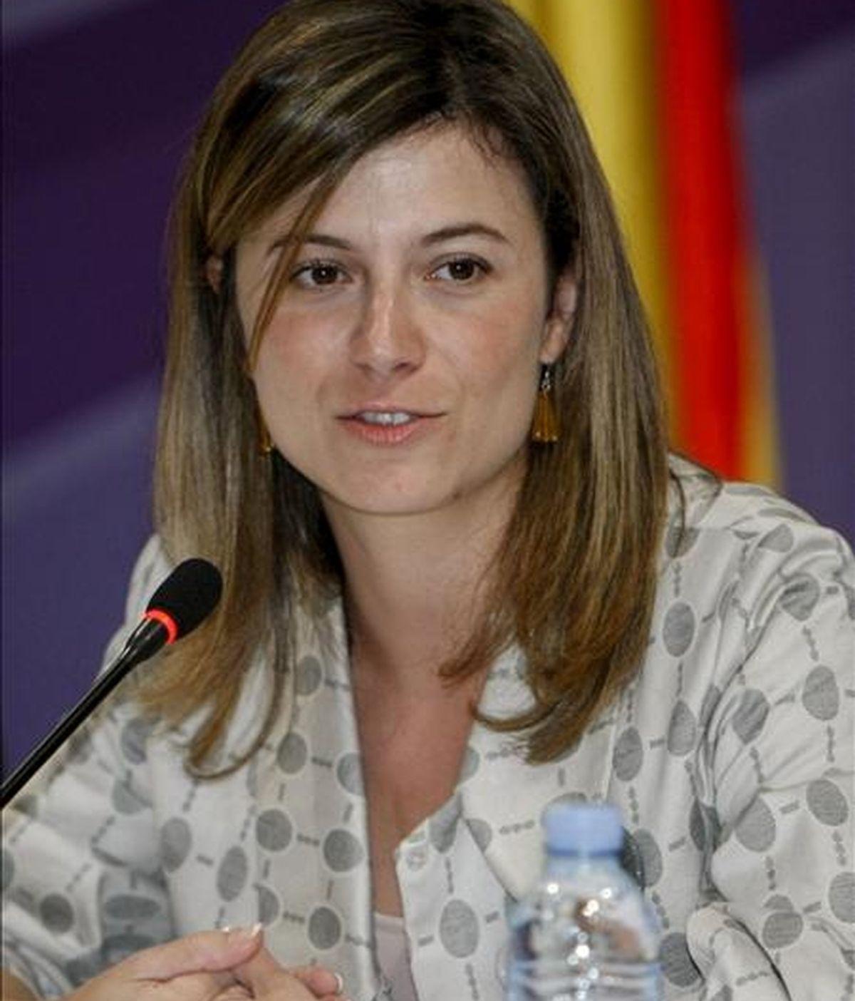 La ministra de Igualdad, Bibiana Aído. EFE/Archivo