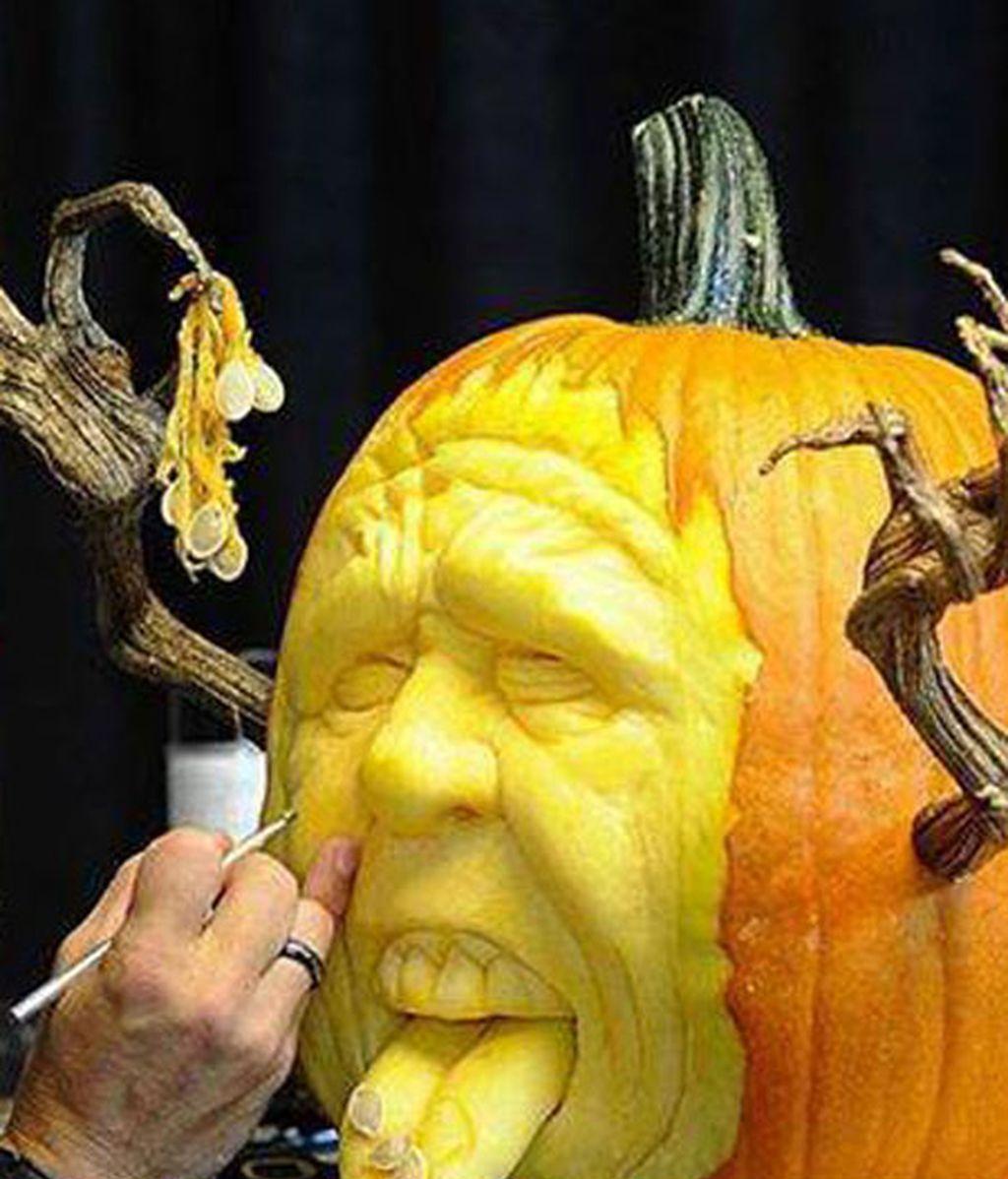 Las calabazas de Halloween más artísticas