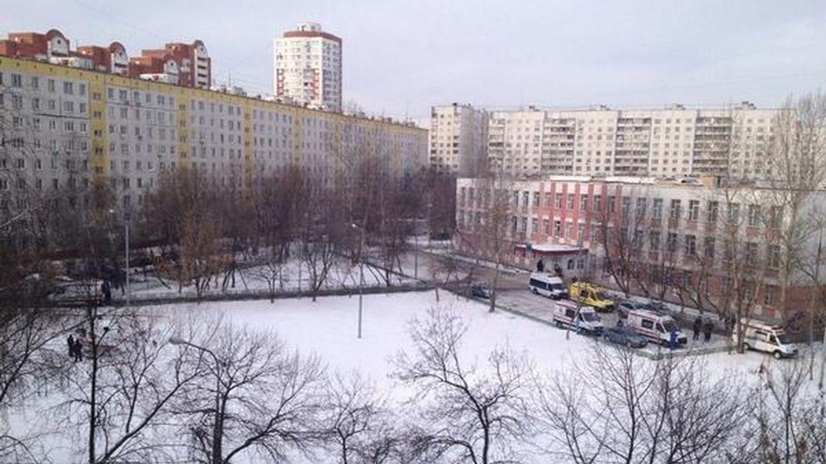 Colegio de Moscú donde un estudiante ha matado a dos personas