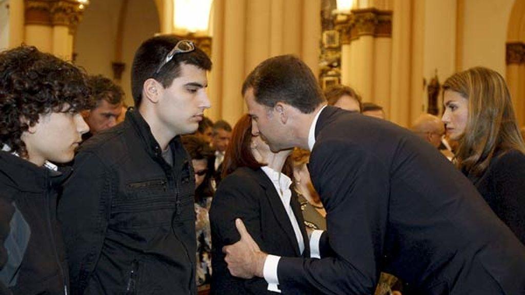 Funeral presidido por los Príncipes de Asturias