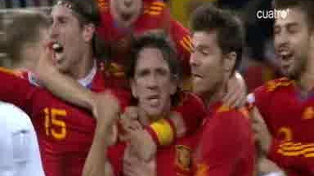 'La roja' recibe el Príncipe de Asturias