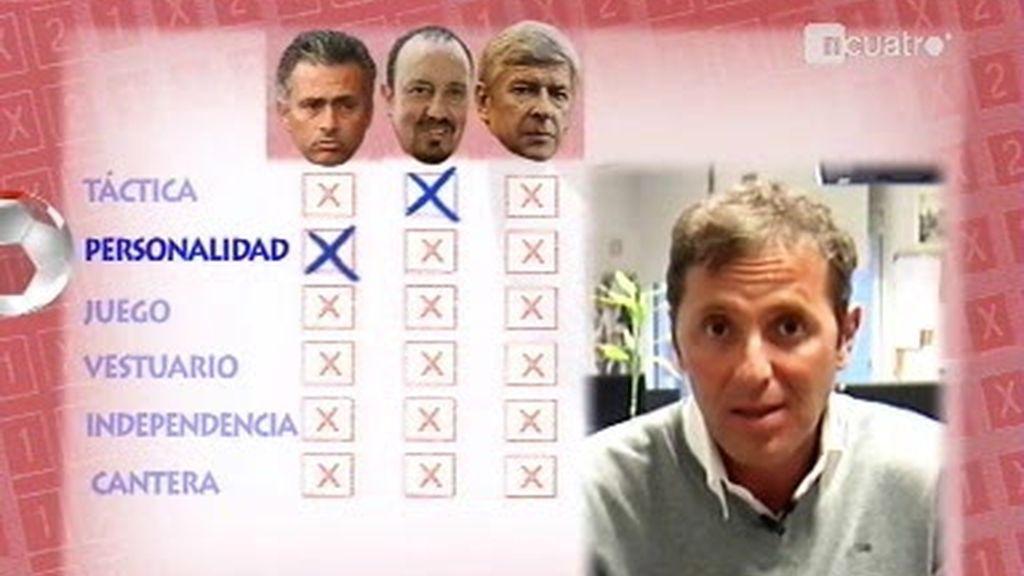 Paco González analiza a Benítez, Mourinho y Wegner
