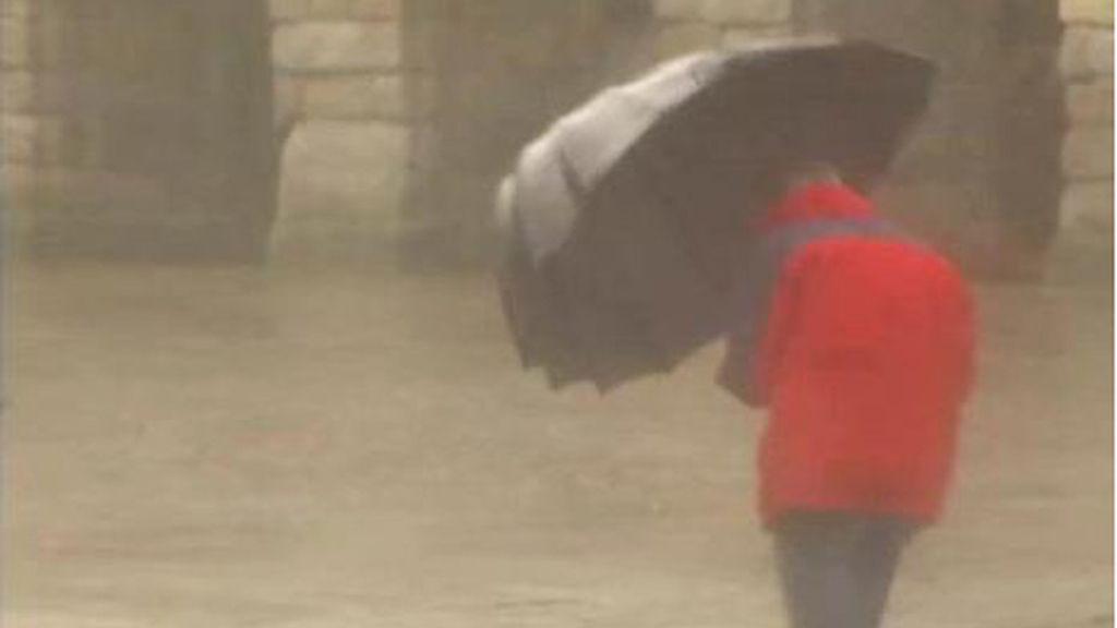 Veintiséis provincias españolas en alerta amarilla por lluvias, viento y oleaje