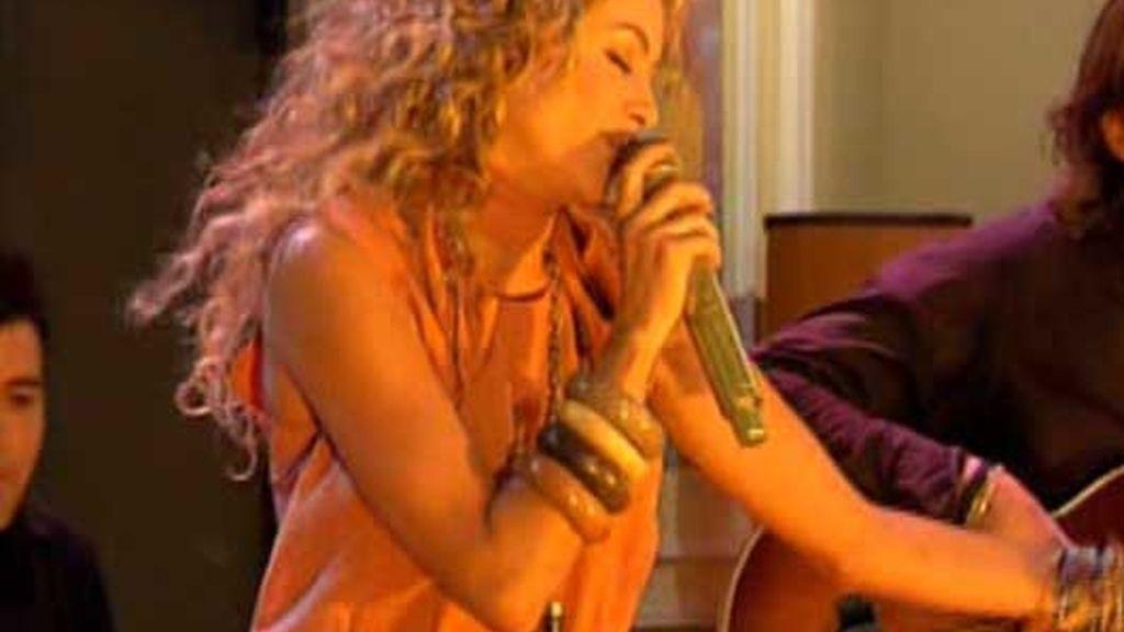Paulina Rubio en directo